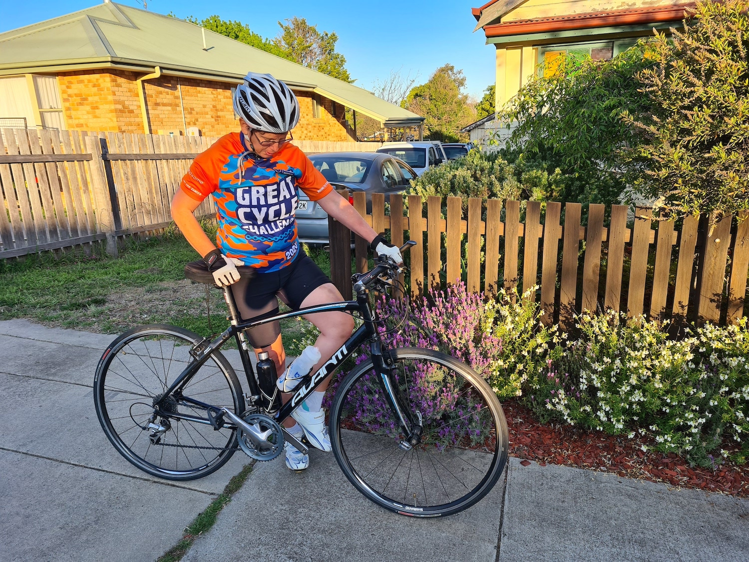 Maria Cotter, UNE, Great Cycle Challenge, fighting children's cancer