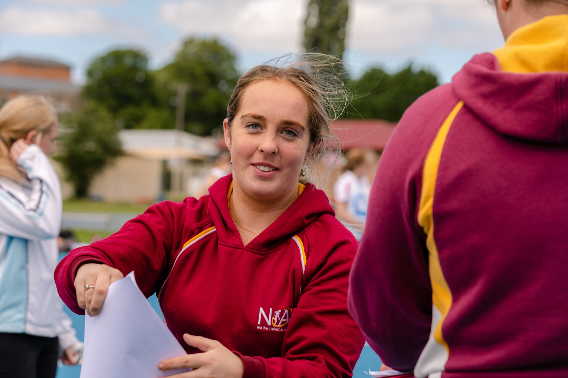 UNE student and NIAS netball coach Sophie Hansen