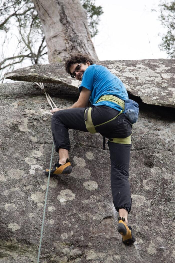 Andrew - Outdoor Adventure Club, Rock Climbing